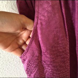Twelfth Street by Cynthia Vincent Dresses - GORGEOUS 100% Silk Snakeskin Print Dress Small